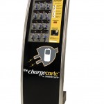 Chargecarte logo on machine